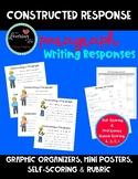 Constructed Response Writing Plan, Graphic Organizer, Scoring Sheets