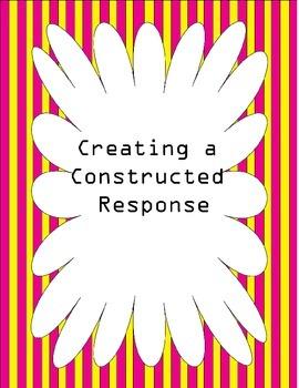 Constructed Response for Beginner's