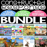 Constructed Response with Text Evidence *BIG BUNDLE*