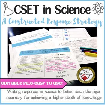 cset written response