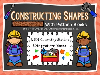 Constructing 2D Shapes with Pattern Blocks