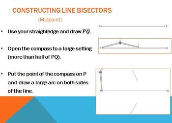 Constructing Bisectors (PP)