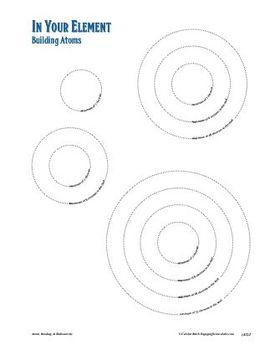 Constructing Bohr models, a manipulative worksheet activity