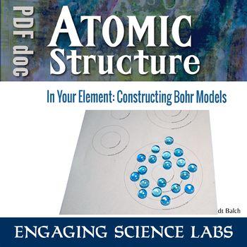 Bohr Model Worksheet Teaching Resources Teachers Pay Teachers