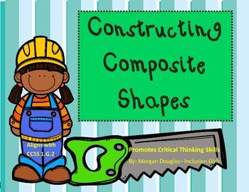 Composite Shape Pattern Block task cards- Critical thinking! 1.G.2