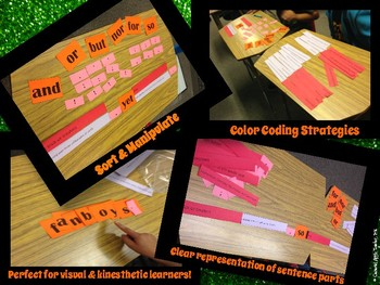Constructing Compound Sentences {Interactive Sentence Strip Lesson}