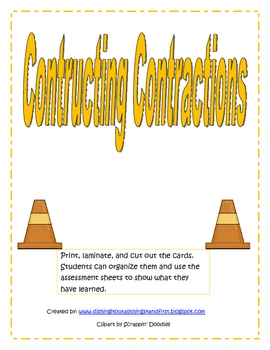 Constructing Contractions