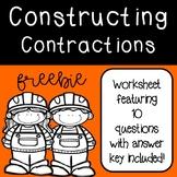 Constructing Contractions Worksheet