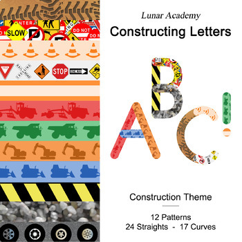 Constructing Letters - Construction Theme