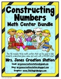 Constructing Numbers Math Center Bundle