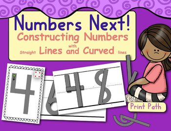 Constructing Numbers with Lines and Curves: Number Writing