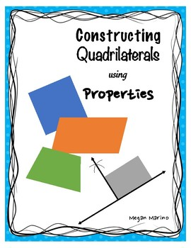 Constructing Quadrilaterals Worksheets & Teaching Resources ...