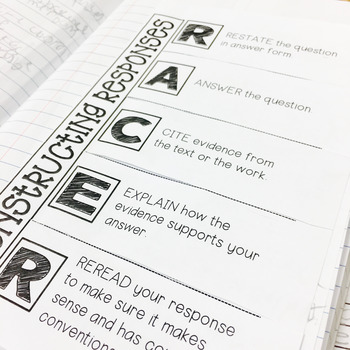 Constructing Responses for ELA