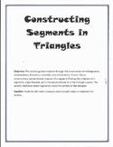 Constructing Segments in Triangles