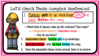 Constructing Sentences Lesson: Simple, Compound, and Complex