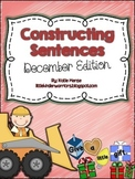 Constructing Sentences for December