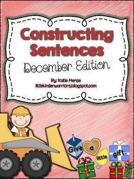 Constructing Sentences for December