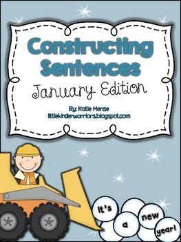 Constructing Sentences for January