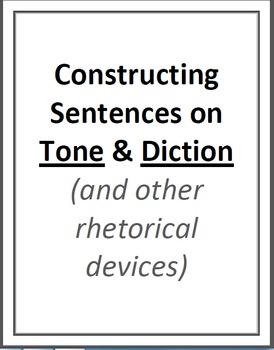 Constructing Sentences on Rhetorical Devices Handout