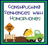 Constructing Sentences with Homophones