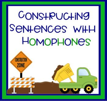 Constructing Sentences with Homophones