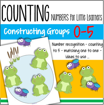 Numbers  - recognition and sets 0-5