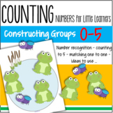 Numbers Center 0-5 - Creating Groups, Number Recognition, Oral Language
