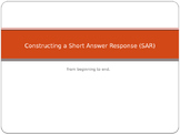 Constructing Short Answer Responses