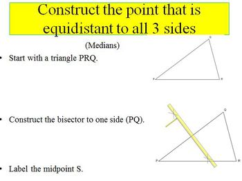 Constructing Special Segments in Triangles (PP)