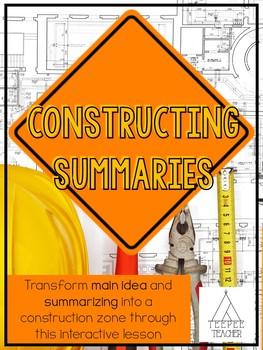 Constructing Summaries and Main Idea
