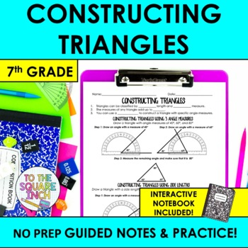 Constructing Triangles Notes
