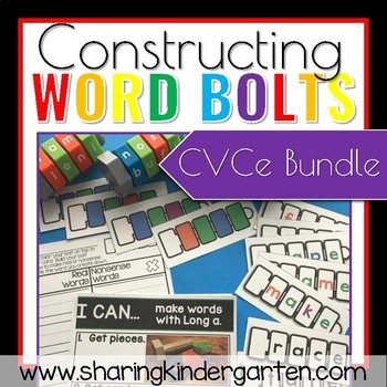 Constructing Word Bolts CVCe