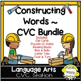 Constructing Words Bundle ~ CVC Phonics Station