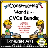 Constructing Words Bundle ~ CVCe Phonics Station