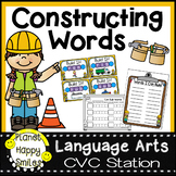 Constructing Words CVC Phonics Station Twist and Turn