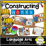 Constructing Words CVC Phonics Station ~ Reading Blocks