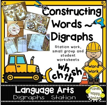 Constructing Words ~ Digraphs Station