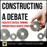 Constructing a Debate: Outline and Graphic Organizer for Sophisticated Argument