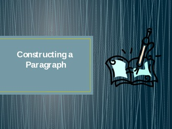 Constructing a Paragraph