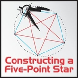 Constructing a Pentagon or 5-Point Star - Art & Geometry