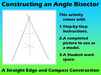 Constructing an Angle Bisector