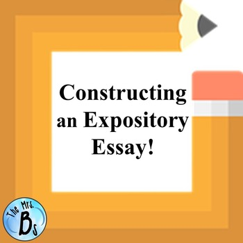 """Constructing an Expository Essay using MLA Formatting"" -"