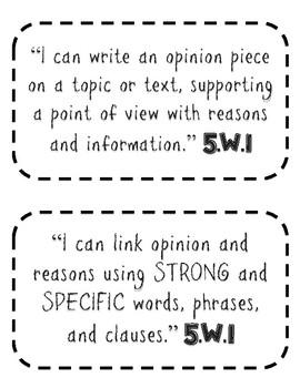 Constructing an Opinion Piece/Argument Piece