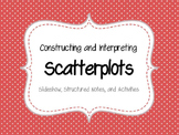 Constructing and Interpreting Scatterplots