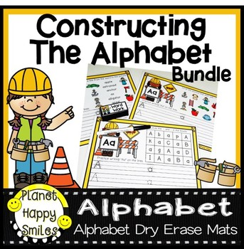 Constructing the Alphabet ~ Mats A-Z