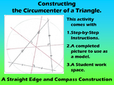 Constructing the Circumcenter of a Triangle