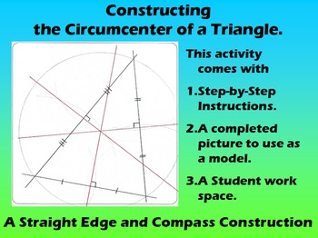 Constructing the Circumcenter of a Triangle