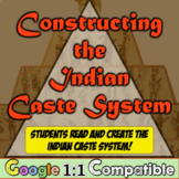 Constructing the Indian Caste System: Students analyze & create the Caste System