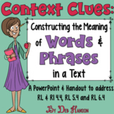 Constructing the Meaning of Words and Phrases PowerPoint