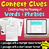 Constructing the Meaning of Words and Phrases: Practice and Assess